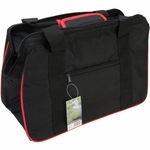 JanetBasket Eco Bag - Black and Red