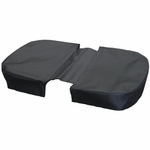 JanetBasket Large Basket Cover - Black