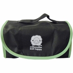 Knit Happy Fold N Go Notions Box - Black and Green