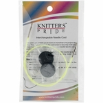 "Knitters Pride Interchangeable Cord 14"" Neon Green (24"" w/tips)"