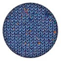 Kraemer Tatamy Tweed Worsted Yarn - Sea Blue Tweed