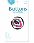 La Mode See Thru Button - Ovals