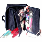 Large Knit & Crochet Organizer with Pages - Yazzii
