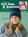 Leisure Arts - Big Book Of Knit Hats & Scarves For Everyone (Clearance)