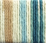 Lily Sugar'n Cream Ombre Yarn Big Ball - Cottage Blues