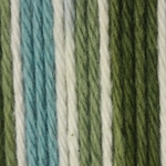 Lily Sugar'n Cream Ombre Yarn Big Ball - Emerald Isle