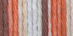 Lily Sugar'n Cream Yarn Stripes Super Size - Natural