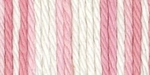 Lily Sugar'n Cream Yarn Super Size - Strawberry