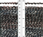 Lion Brand Homespun Yarn - Midnight Stripes