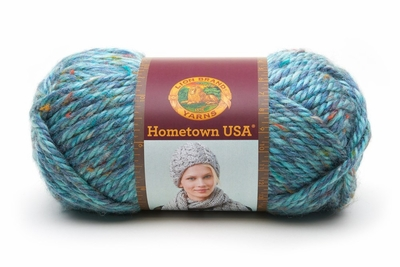 Lion Brand Hometown USA Yarn - Key Largo Tweed