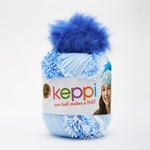 Lion Brand Keppi Yarn - Little Boy Blue