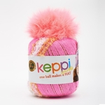 Lion Brand Keppi Yarn - Rose Garden - Sparkle