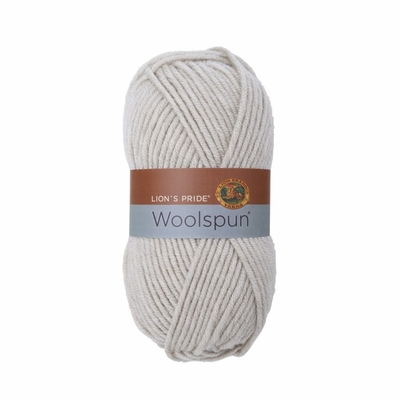 Lion Brand Lions Pride Woolspun Yarn - Linen Only $4.99 at Yarn Supply