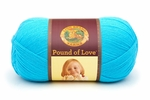 Lion Brand Pound Of Love Baby Yarn - Turquoise