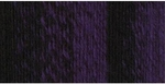 Lion Brand Scarfie Yarn - Black/Purple