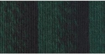 Lion Brand Scarfie Yarn - Forest/Black