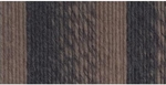 Lion Brand Scarfie Yarn - Taupe/Charcoal