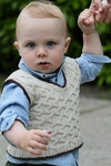 Lisa Ellis Designs Boy's Preppy Vest Pattern