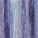 Patons Decor Yarn - Rich Blues Variegated