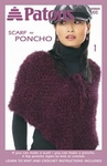 Patons - Scarf=Poncho Book