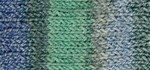 Patons Stretch Socks Yarn - Spearmint Jacquard