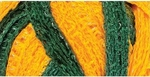 Red Heart Boutique Sashay Team Spirit Yarn - Green/Gold