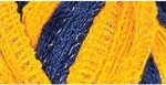 Red Heart Boutique Sashay Team Spirit Yarn - Navy/Gold