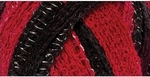 Red Heart Boutique Sashay Team Spirit Yarn - Red/Black