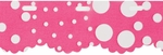 Red Heart Boutique Sassy Fabric Yarn - Pink Dot
