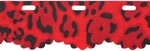 Red Heart Boutique Sassy Fabric Yarn - Red Leopard