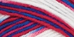 Red Heart Super Saver Yarn - Stars & Stripes
