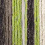 Vickie Howell Sheep(ish) Stripes Yarn - Green Neon(ish)