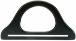 "Wood Purse Handle 9-3/4"" - Black 1/Pkg"