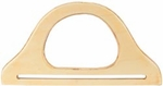 "Wood Purse Handle 9-3/4"" - Natural 1/Pkg"