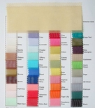 Organza Table Linen Color Choices