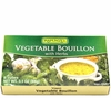 Organic VEGETABLE BOUILLON - <font size=+1>6/</font size> 3.1 oz Packs of  8 Bouillon Cubes each