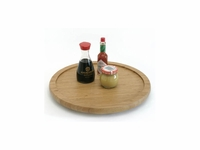 14 Inch Bamboo Lazy Susan