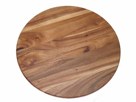 18 inch Acacia Wood Lazy Susan
