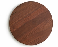 Walnut Wood Lazy Susan Turntable - 18 Inch