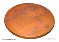 Copper Lazy Susan - 24 Inch