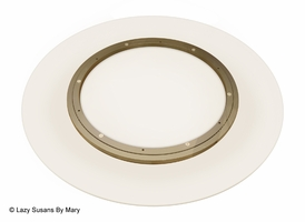 Glass Lazy Susan Turntable - 30 Inch