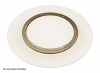 """42"""" Glass Lazy Susan Turntable"""