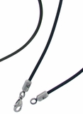 "19"" Rubber necklace"
