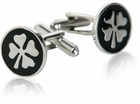 4 Leaf Clover Cufflinks