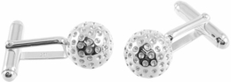 925 Sterling Silver Golf Ball  Cufflinks