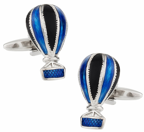 Air Balloon Cuff Links
