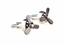 Airplane Propeller Cufflinks