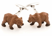 Animal Cufflinks - Bear