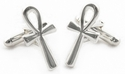 Ankh Key of Life Cufflinks