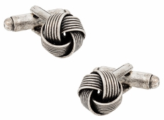 Antiqued Knot Cufflinks